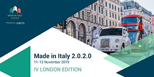 Made in Italy 2.0.2.0. IV London Edition | 2 Days of...