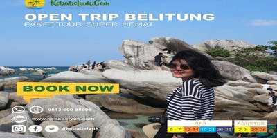 Belitung Tour - Open trip belitung 3 hari 2 malam