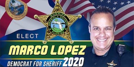 Marcos Lopez 4 Sheriff Volunteer Meetup tickets