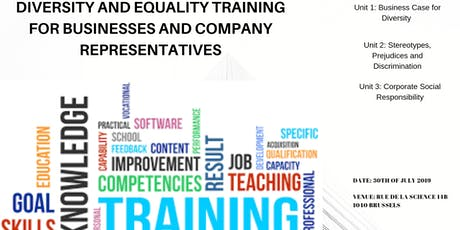 Diversity and Equality Training For Businesses and Company Representatives  tickets