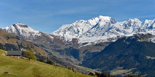 """Stage Yoga et Rando à la Montagne """"Régénération d'automne"""" (Alpes, Savoie)"""