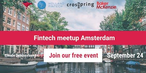 Fintech Meetup Amsterdam: Crosspring x Holland Fintech x Baker McKenzie