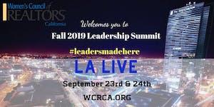 Women's Council of REALTORS® - California State 2019...