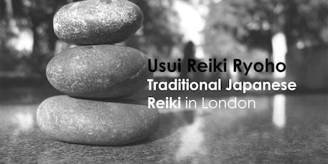 Reiki Training Level 2 London - Certified and Professional Reiki training tickets