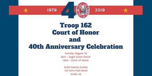 40th Anniversary Court of Honor