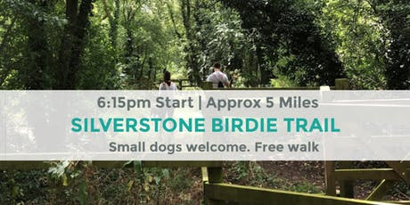 SILVERSTONE BIRDIE TRAIL | APPROX 5 MILES | MODERATE | NORTHANTS tickets