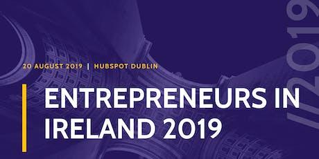Entrepreneurs in Ireland 2019 tickets