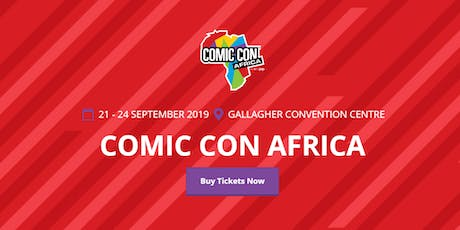 ComicCon Africa (DEMO/Test event) tickets