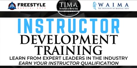 Instructor Development Training tickets