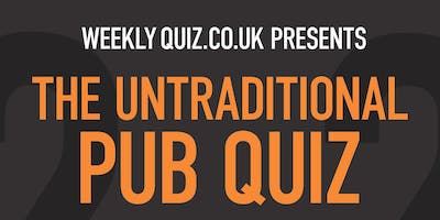 The Untraditional Pub Quiz