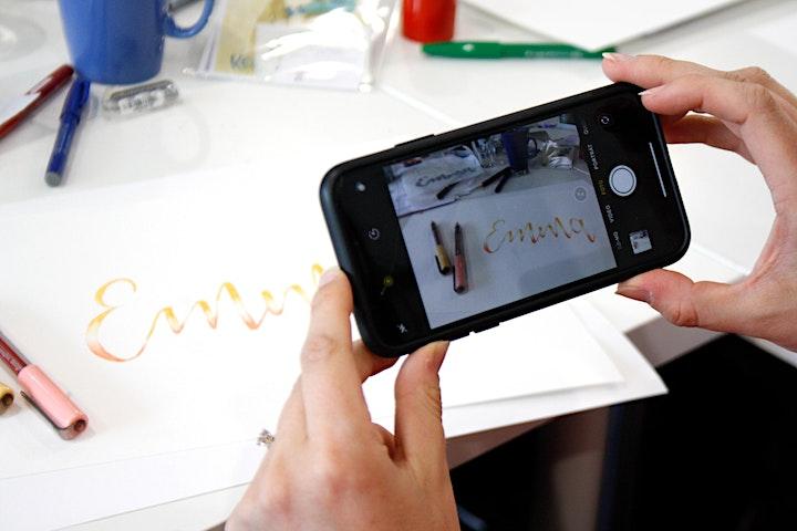 Handlettering Intensivkurs - ein 8 Stunden Kurs an zwei Tagen: Bild