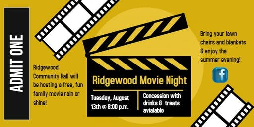 Ridgewood Movie Night