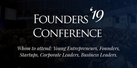 Founders Conference 2019 tickets