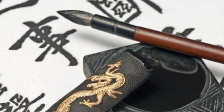 The art of Chinese calligraphy with tea and cake tickets