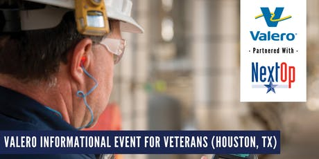 Valero Informational Event  For Military Veterans (Houston, TX) tickets