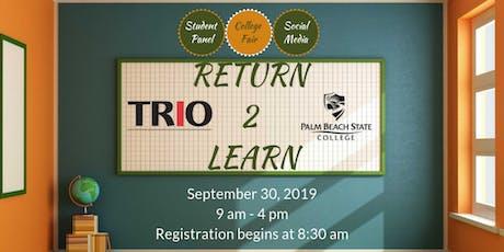 Return 2 Learn tickets