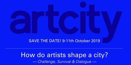 How do Artists Shape a City: ArtCity Conference 2019 tickets