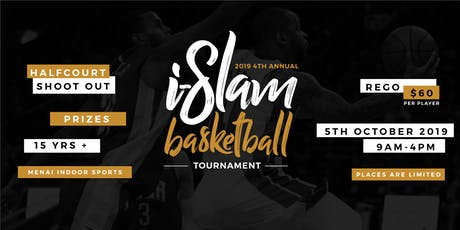4th Annual i-Slam Basketball Tournament - 5 Oct 2019 tickets