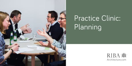 RIBA London Practice Clinic - Planning  tickets