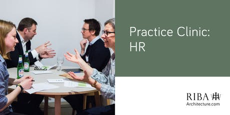 RIBA London Practice Clinic - HR tickets