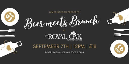 James Beeson Presents... Beer Meets Brunch at The Royal Oak