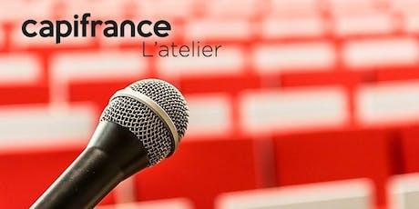 Conférence : Prise de parole en public, gestion du stress et des conflits billets
