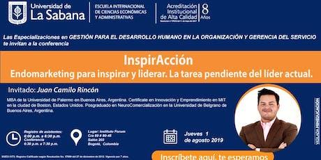 InspirAcción Endomarketing para inspirar y liderar. La tarea pendiente del entradas