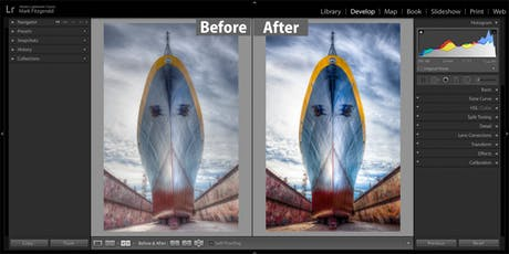 Mastering the Lightroom Classic Develop Module tickets