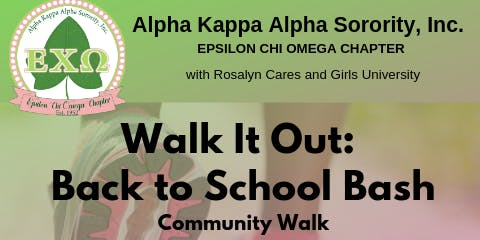 Walk it Out: Back to School Bash