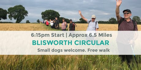 BLISWORTH TUNNEL CIRCULAR WALK | NORTHANTS | 6.5 MILES | MODERATE ROUTE tickets