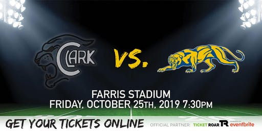 Clark vs O'Connor Varsity Football
