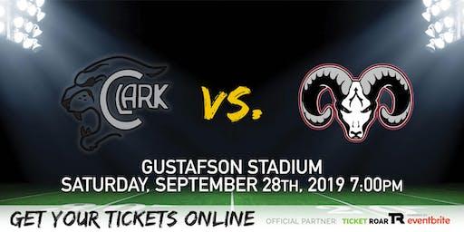 Clark vs Marshall Varsity Football