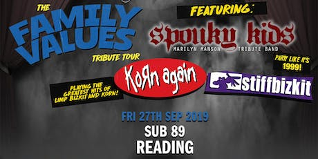 The Family Value Tour 2019 (Sub89, Reading) tickets