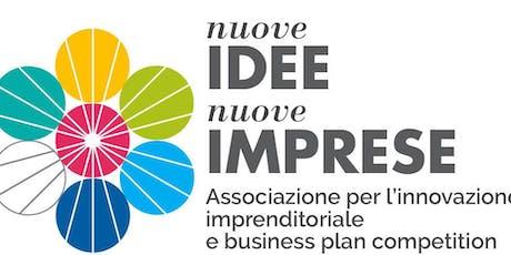 NUOVE IDEE NUOVE IMPRESE 2019 - CORSO DI FORMAZIONE biglietti