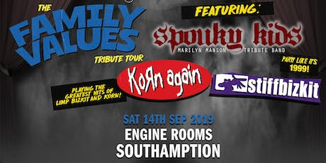 The Family Value Tour 2019 (Engine Rooms, Southampton) tickets