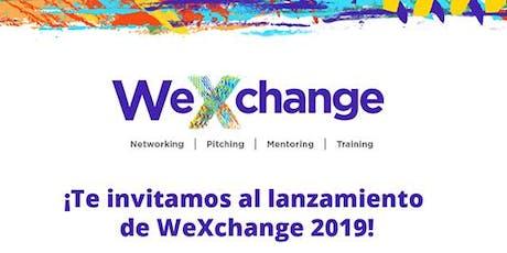 Lanzamiento WeXchange entradas