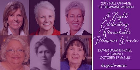 2019 Delaware Women's Hall of Fame Awards Reception   tickets