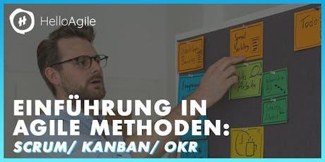 Agile Masterclass: Scrum/ Kanban/ OKR Tickets