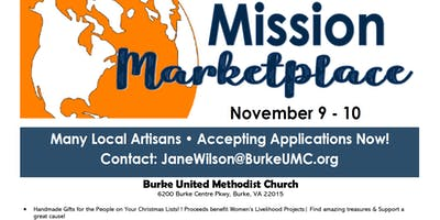 Mission Marketplace Vendors needed!