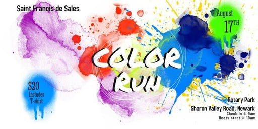 Saint Francis de Sales Color Run