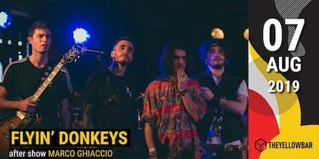 Flyin' Donkeys - The Yellow Bar biglietti