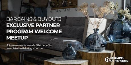 Bargains & Buyouts Real Estate & Designer Partner Program tickets