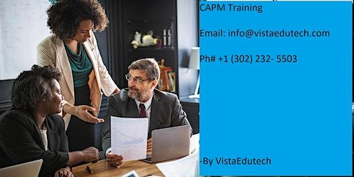 CAPM Classroom Training in Lewiston, ME