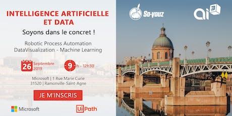Intelligence artificielle et Data: soyons dans le concret! billets