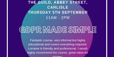GDPR Made Simple for Small Business