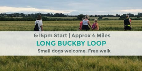 LONG BUCKBY LOOP | Approx 4 MILES | MODERATE | NORTHANTS tickets