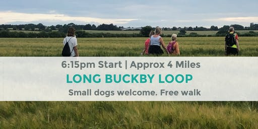 LONG BUCKBY LOOP | Approx 4 MILES | MODERATE | NORTHANTS