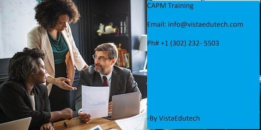 CAPM Classroom Training in Merced, CA