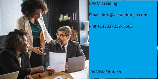 CAPM Classroom Training in Modesto, CA