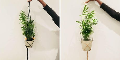 Make your own macramé plant hanger tickets